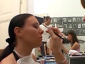 Valentina Velasquez getting a taste of a massive hard jizz-shotgun