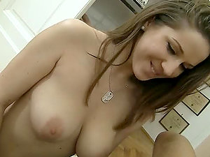 Doll With Nice Tits Fucked In The Pusy By Big Fat Manstick.