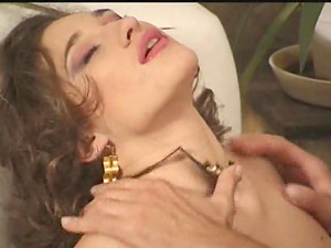 Her engorged labia gets dicked intensively and madly