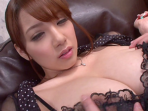 Shion Utsunomiya has her restless labia vibed tirelessly
