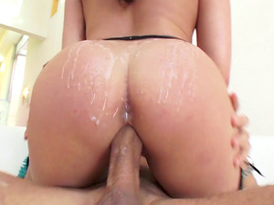 Christiana Cinn dolls up for a good pounding session