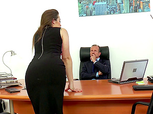Dani Daniels craves to be plowed by a businessman's cock