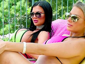 Unforgettable group sex with Juelz Ventura and alluring Jasmine Jae