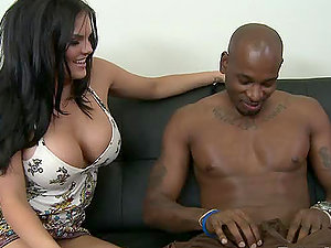 Big-chested Milky Chicks Getting Fucked by Black Dude
