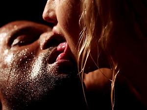 Stunning blonde Cayla Lyons enjoys a sensual penetration