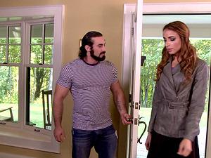 Savannah Thorne seduced for a shag by a handsome lover