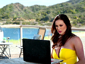 Kendra Lust enjoys being penetrated by a couple of lovers