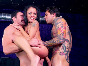 Petite Holly Hendrix cannot get enough of men's penises