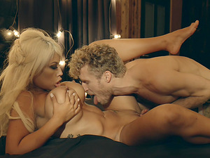 Magnificent sex session with busty blonde Bridgette B