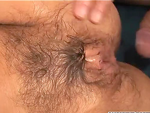 Horny ash-blonde nymphomaniac stunner gets her cock-squeezing cootchie fucked