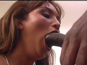 Massive black boner is all Vanessa French wants to feel