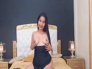 Check this hot girl when she is fucking her ass with a dildo