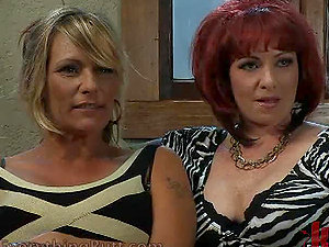 Lezzy Mummies Go Wild After Watching Porno
