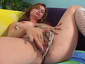 Chesty Mummy Gets a Thick Internal cumshot in Her Hairy Snatch