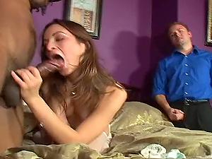 Cuckolded On His Wedding Night By a Big Black Man sausage