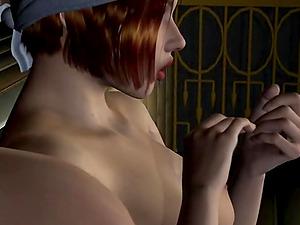 Two hot Girls are having naughty fun in a sauna