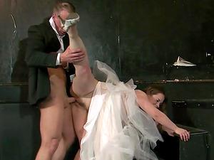 Cheating bride called Olga Cabaeva having hot shameless sex