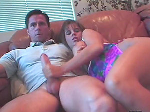 Dalia and Leanni Lei munch each other's vags and suck some dude's dick