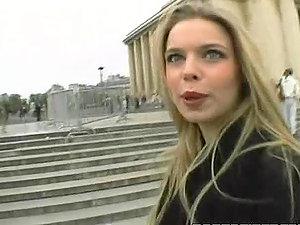 Smoking hot blondie Kelly Stafford gets banged in Paris