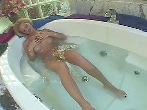 Hot blonde Caroline Cell is a manstick sucking maniac