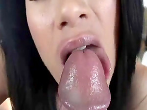 Blonde milf gives the best blowjob ever