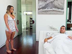 Good looking Cali Carter finally gets to fuck with a horny friend