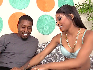Black Babe Mouth and Cunt Invaded by BBC