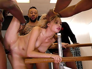 One black cock can't please naughty Carolina Sweets anymore