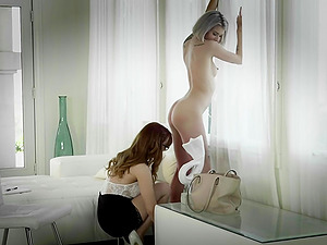 Arya Fae and Dani Jensen like to satisfy each other's pussies