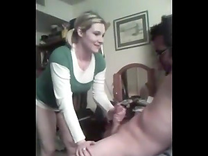 Sexy wife enjoying another mans dick while her hubby gets it on video.