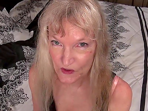 Hot european mature blondes solo masturbation compilation video