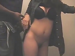 Sexy Latina Hooker Blowjob in WC