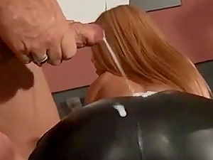 Cum on Leather Hot Butts Mix For Us