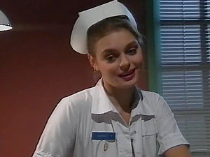 Raunchy Nurse Chick Humps Her Patient.