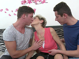 One stiff cock is not enough to please Irenka S. anymore
