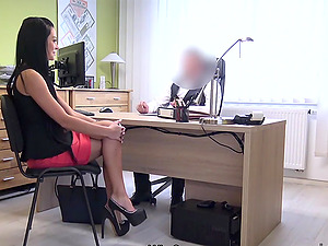Russian cutie sucks and rides cock