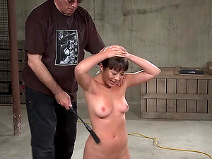 She never imagined she would enjoy being brutally spanked
