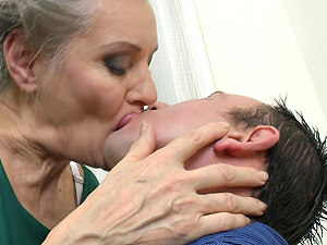 Granny Birgitta K. still knows how to ride a cock like a pro
