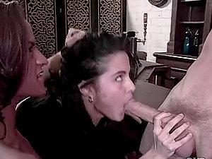 Joel Lawrence fucks Wanda Curtis's and Autumn Haze's hot butt holes