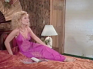 Nina Hartley and a stud practise 69 and fuck hotly on the sofa