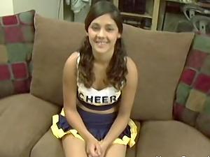 Amateur teen cheerleader anal fuck