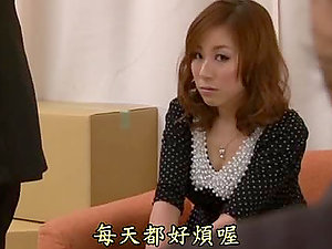 Hot Japanese Assistant Yuria Sonoda Sucking and Railing Her Manager's Man rod