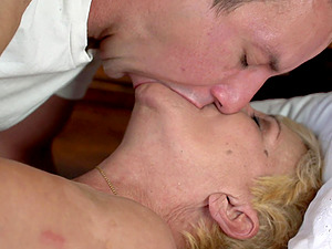 Young stud fulfills all of granny Lili's wildest desires