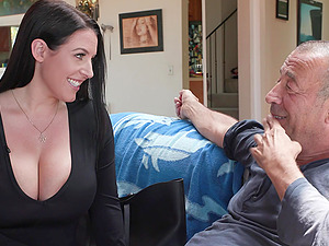 Brunette Angela White simply can't get enough hardcore anal pounding