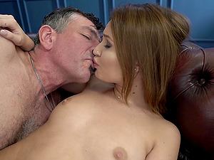 Busty brunette MILF Shelley Bliss rides a hard cock like a maniac