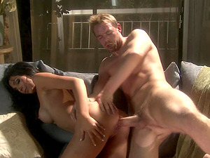 Diana Prince sucks and rides a big dick in high heels