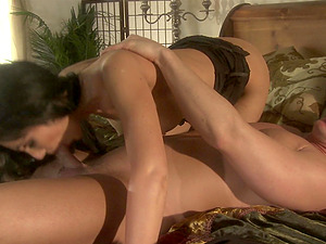Diana Prince gets her pussy licked and pounded doggy style