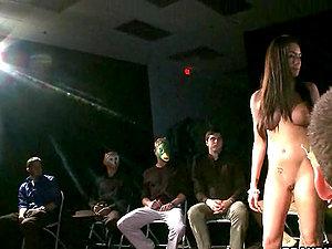 Stripper Tramp Gets Fucked.