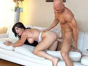 Beverly Hills drives Johnny Sins's crazy with her cock-riding talent