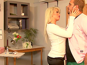 Brooke Haven Flirts And Fucks The School Nurse